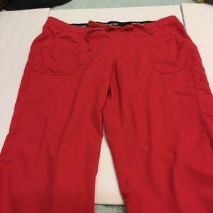 Grey's Anatomy Scrub Pants XL Hot Pink
